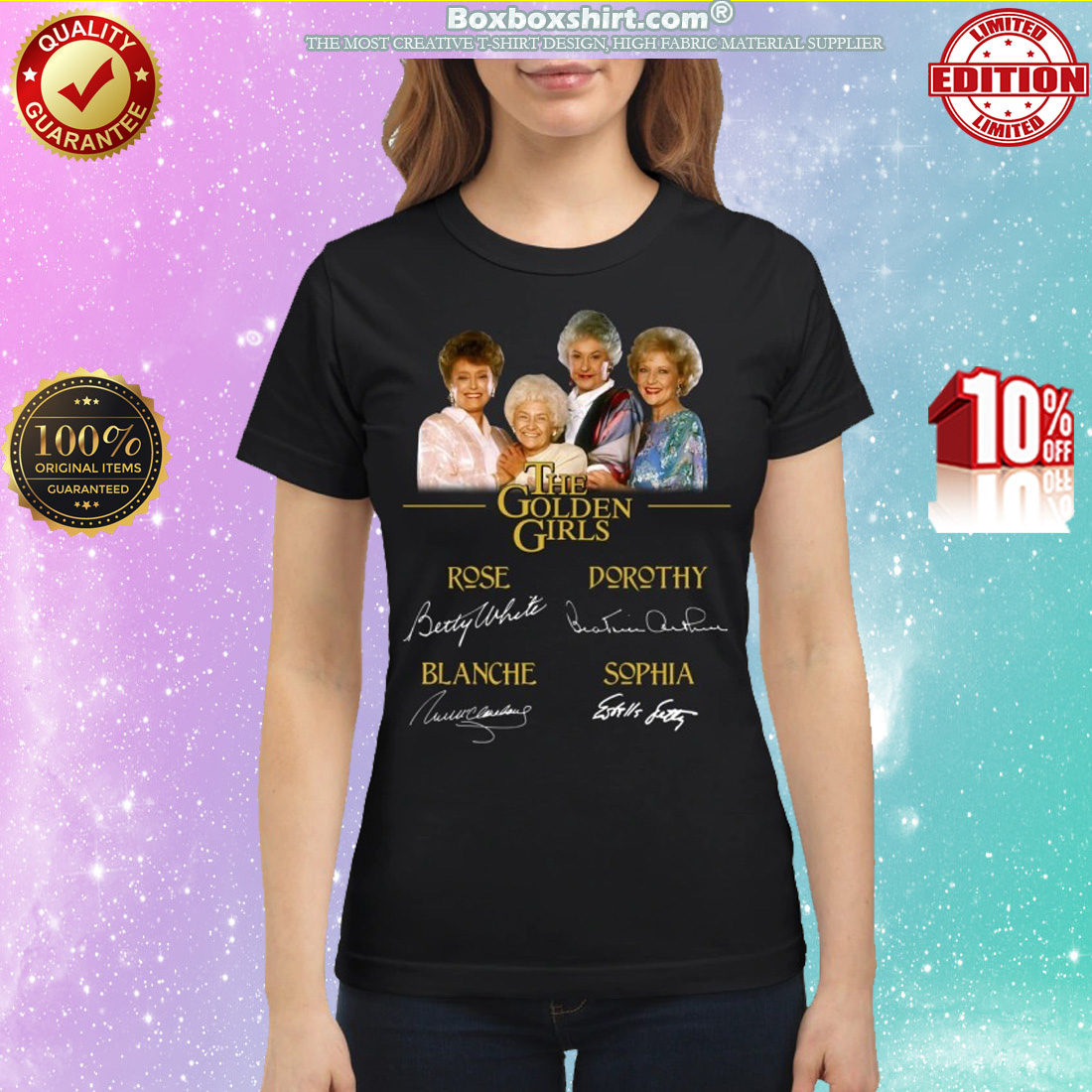 The Golden girls Róe Dorothy Blanche Sophia classic shirt