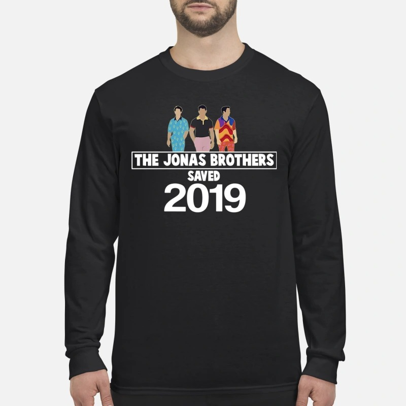 The Jonas brothers saved 2019 men's long sleeved shirt