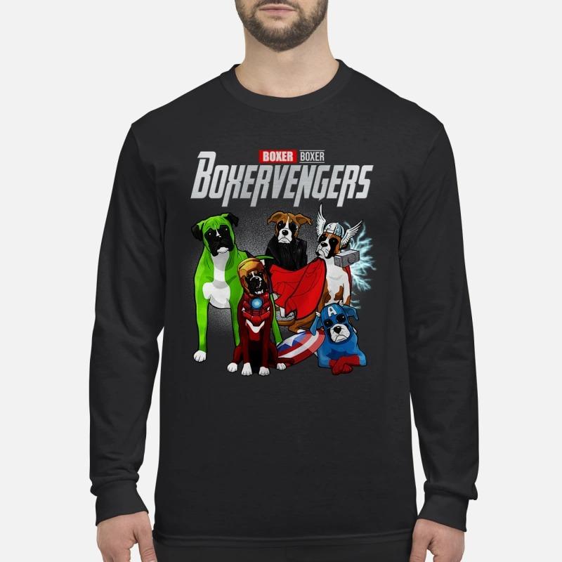 Boxer avenger boxervengers men's long sleeved shirt