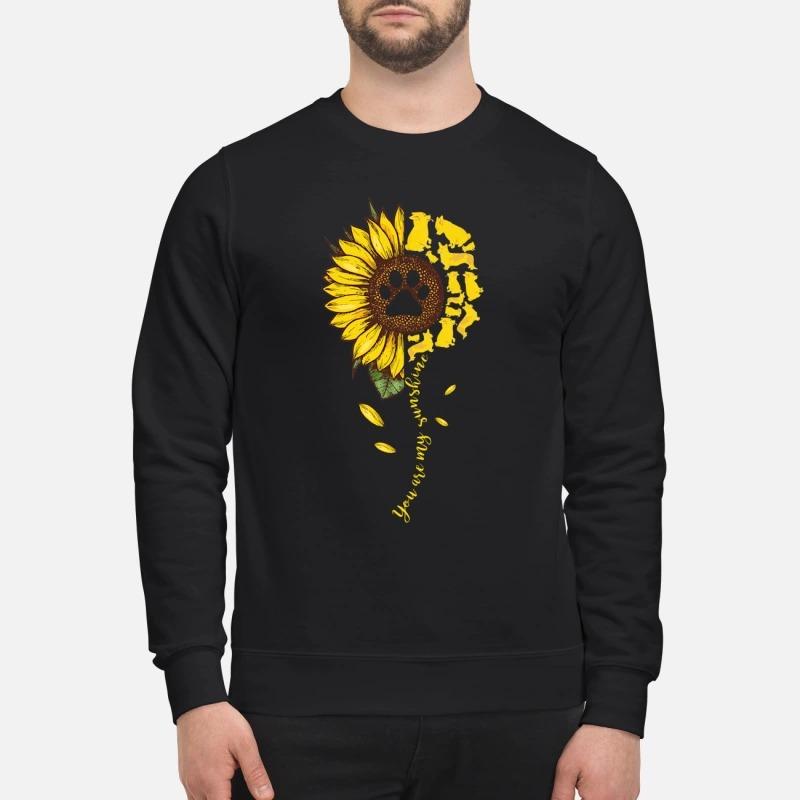 Corgi dog you are my sunshine sweatshirt