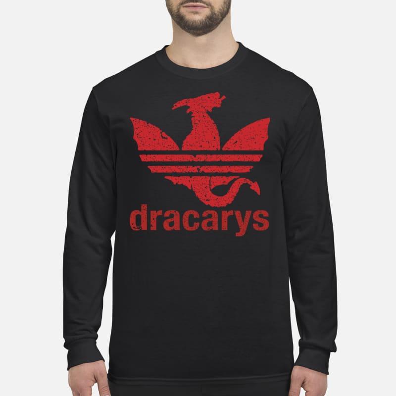 Dracarys adidas men's long sleeved shirt