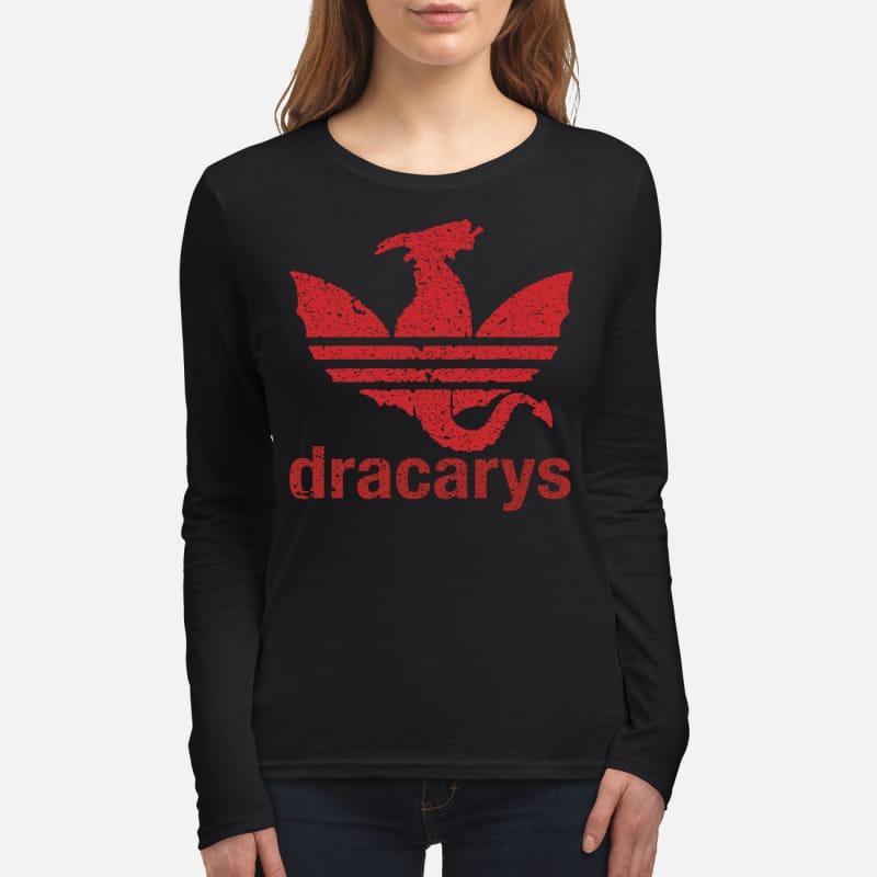 Dracarys adidas women's long sleeved shirt