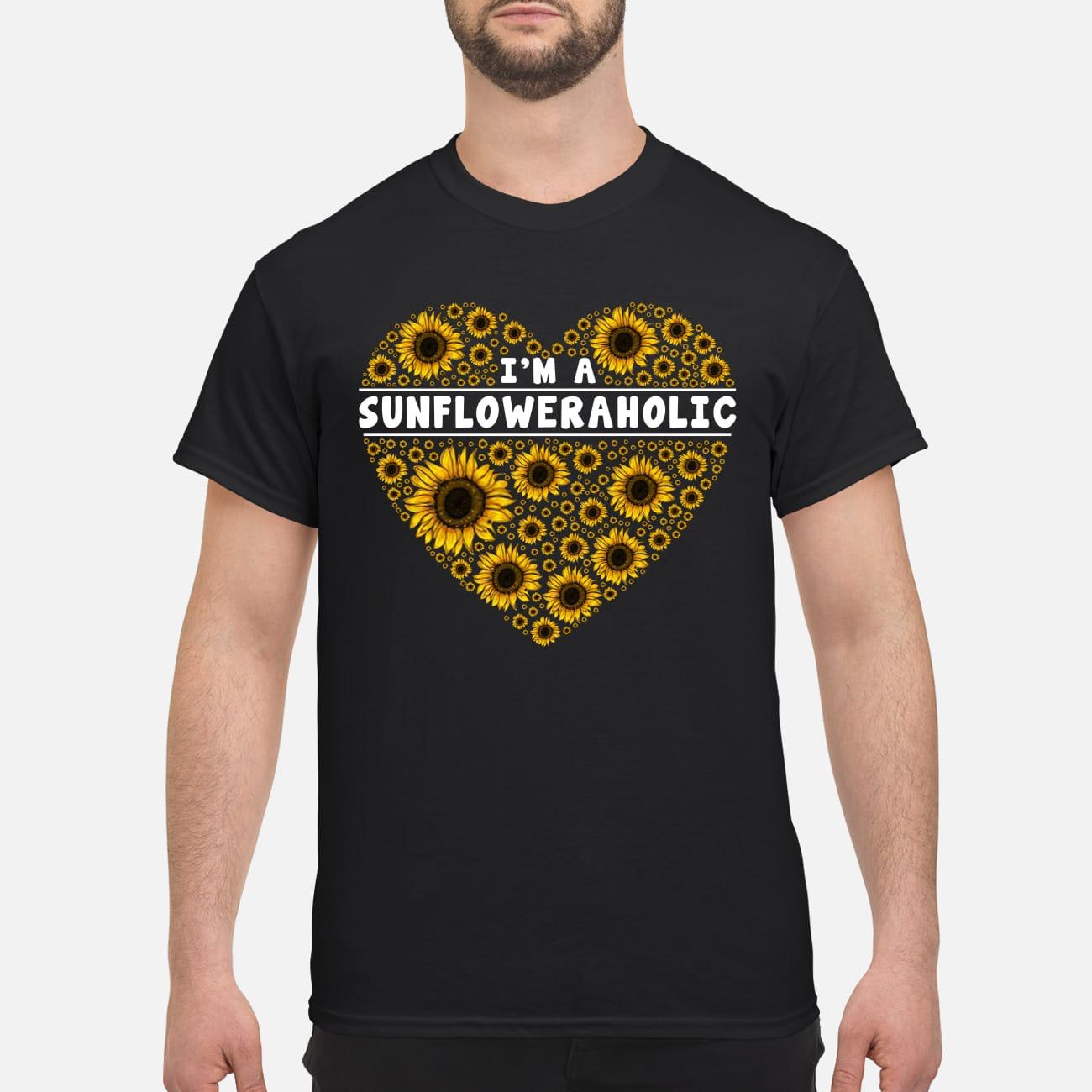 I'm a sunfloweraholic classic shirt