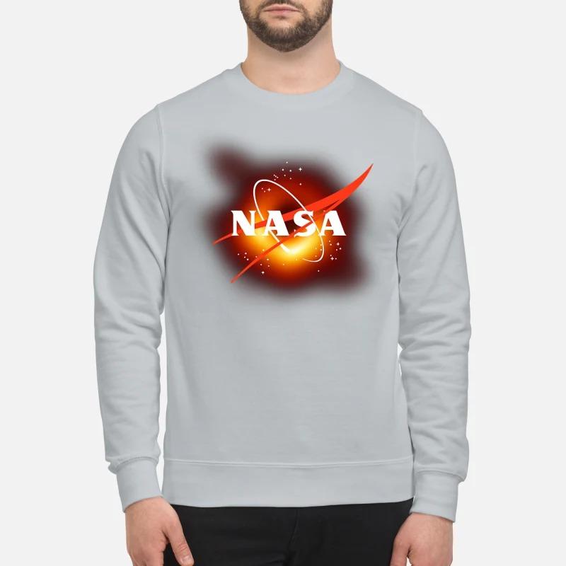 NASA black hole sweatshirt
