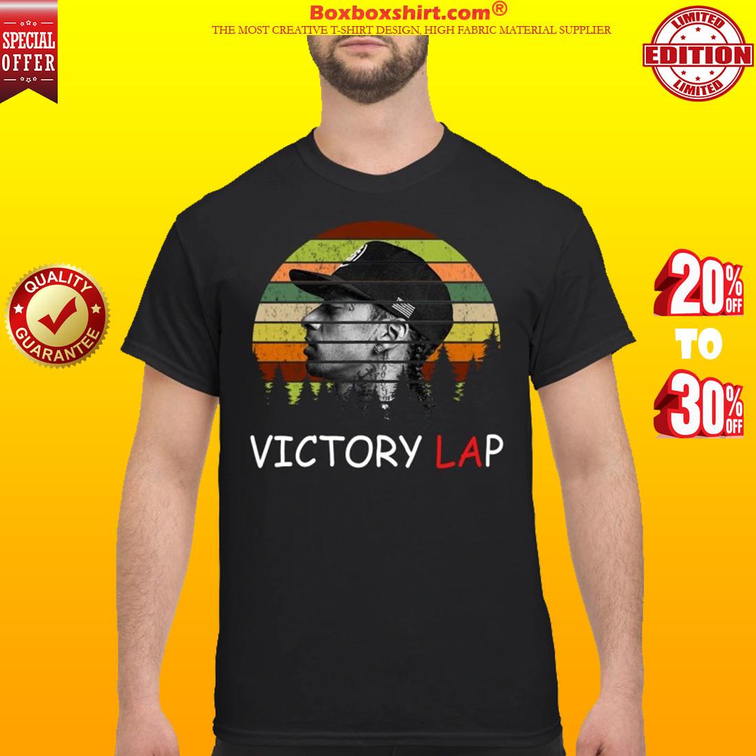 Nipsey Hussle victory lap shirt