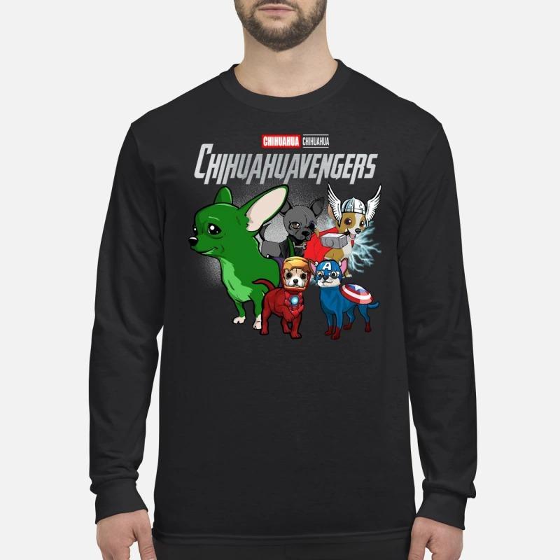 Pitbull avenger Pitbullvengers men's long sleeved shirt