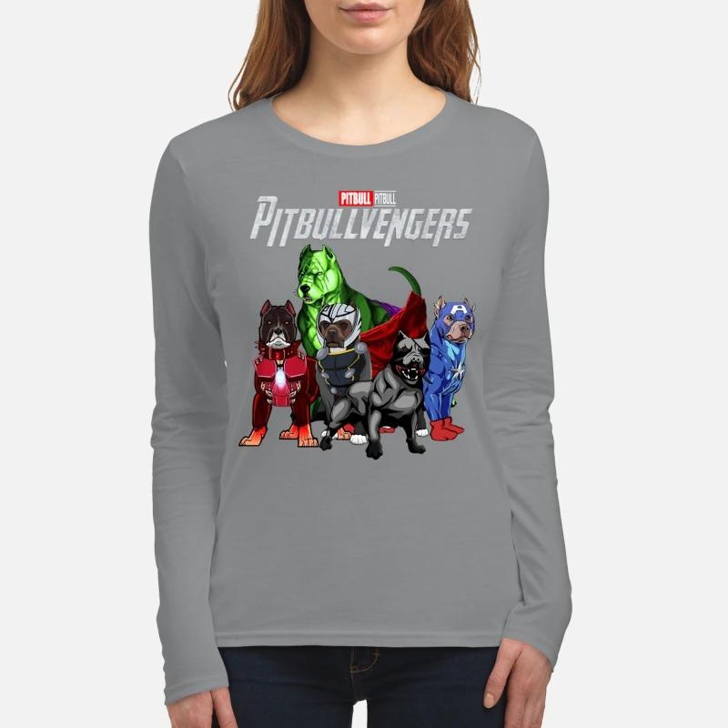 Pitbull avenger Pitbullvengers women's long sleeved shirt