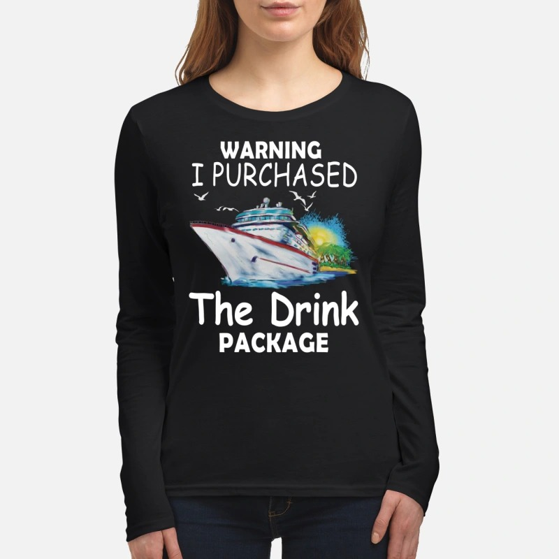 Ship Warning I purchase the green package women's long sleeved shirt
