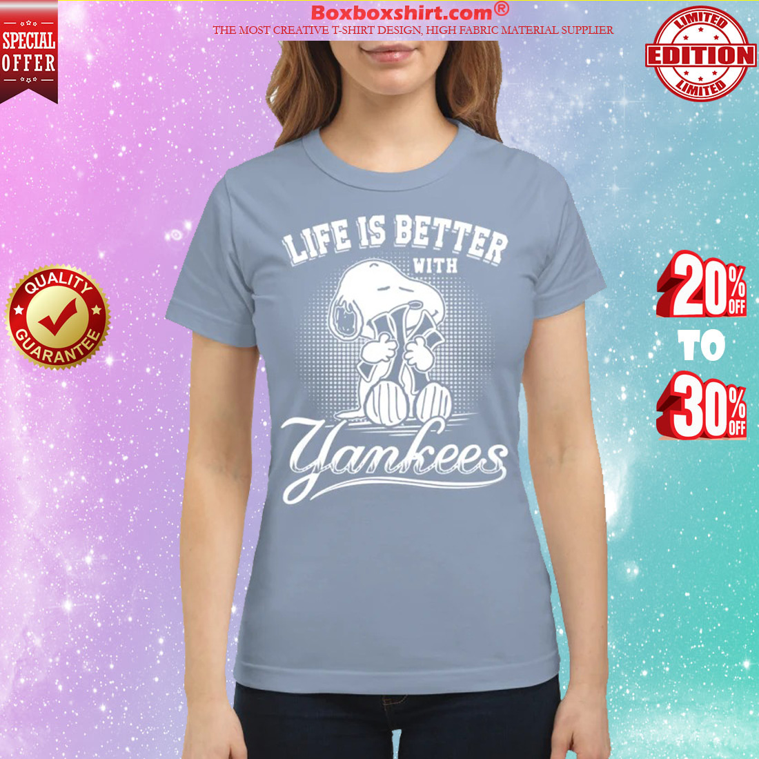 Snoopy life is better with Yankees classic shirt