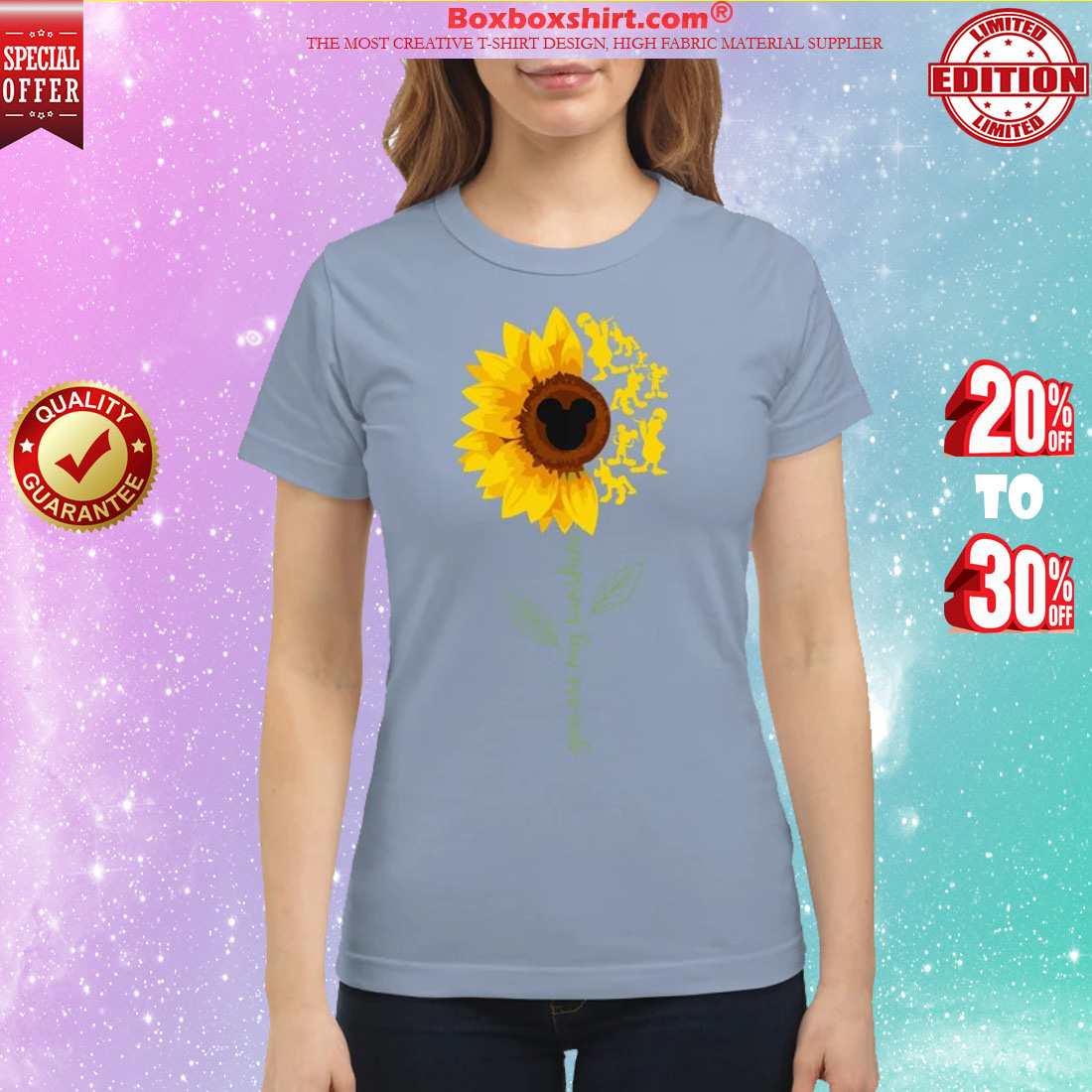 You are my sunshine mickey mouse classic shirt