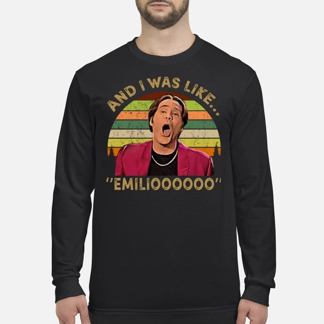 And I was like emilioo men's long sleeved shirt