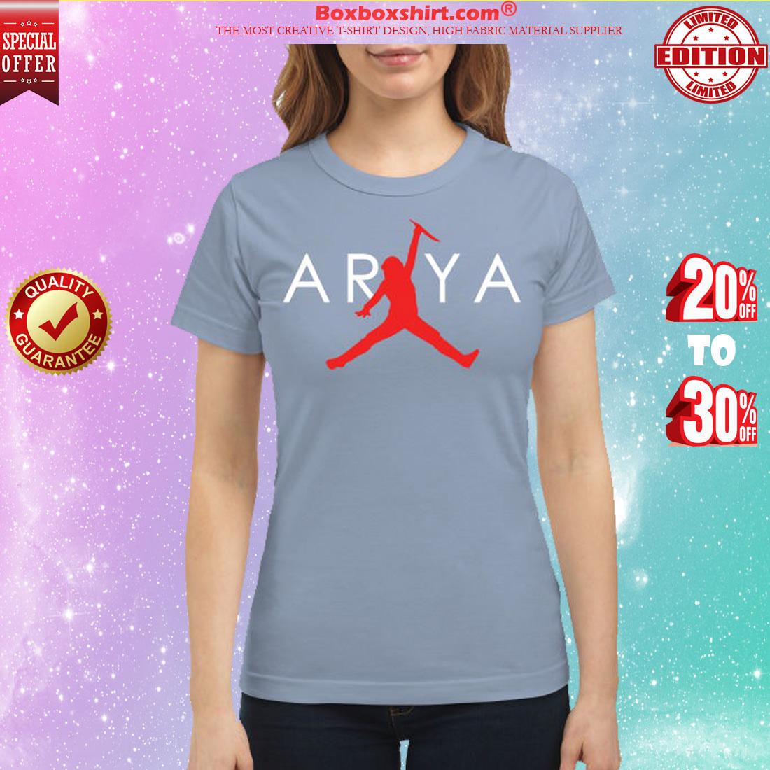 Arya Stark jordan jump classic shirt