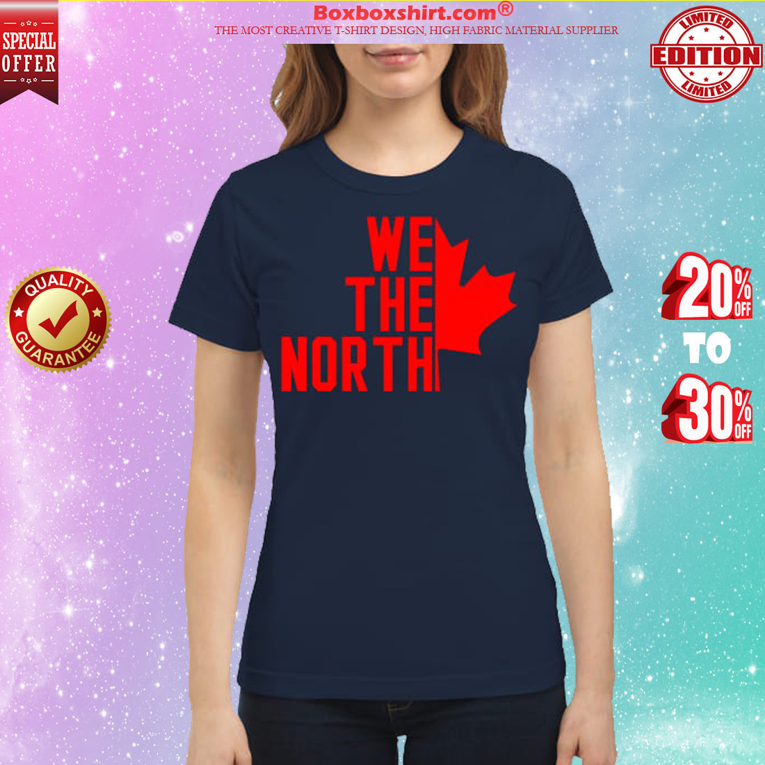 Canada We the North classic shirt