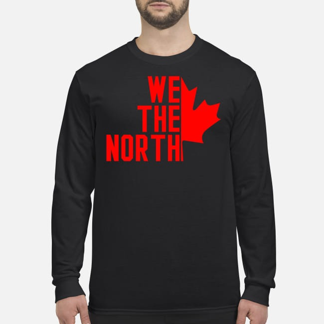 Canada We the North men's long sleeved shirt