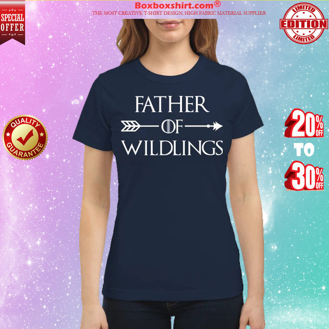 Game of Thrones father of wildings classic shirt