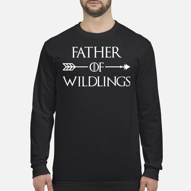 Game of Thrones father of wildings men's long sleeved shirt