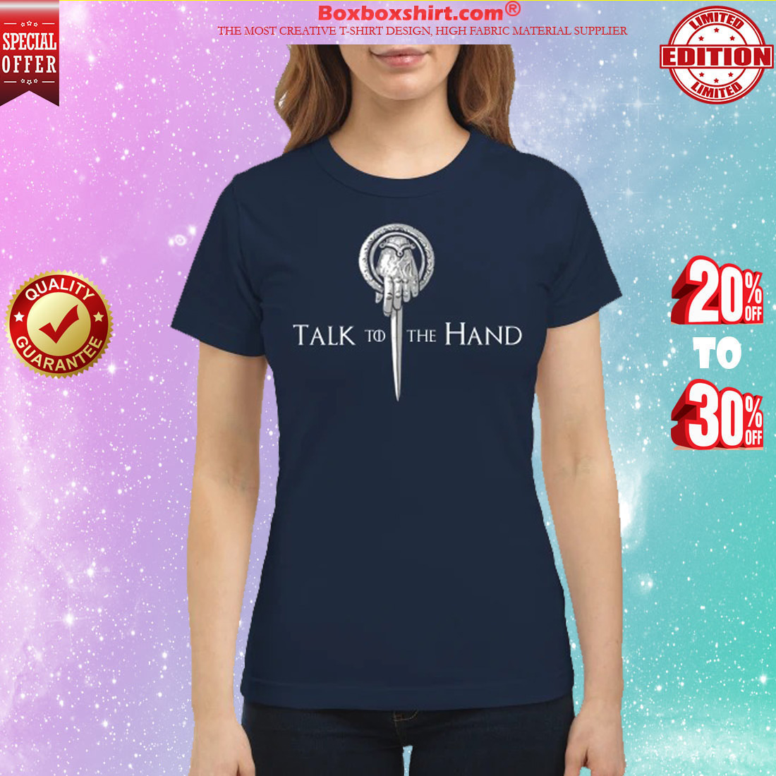 Game of Thrones talk to the hand classic shirt