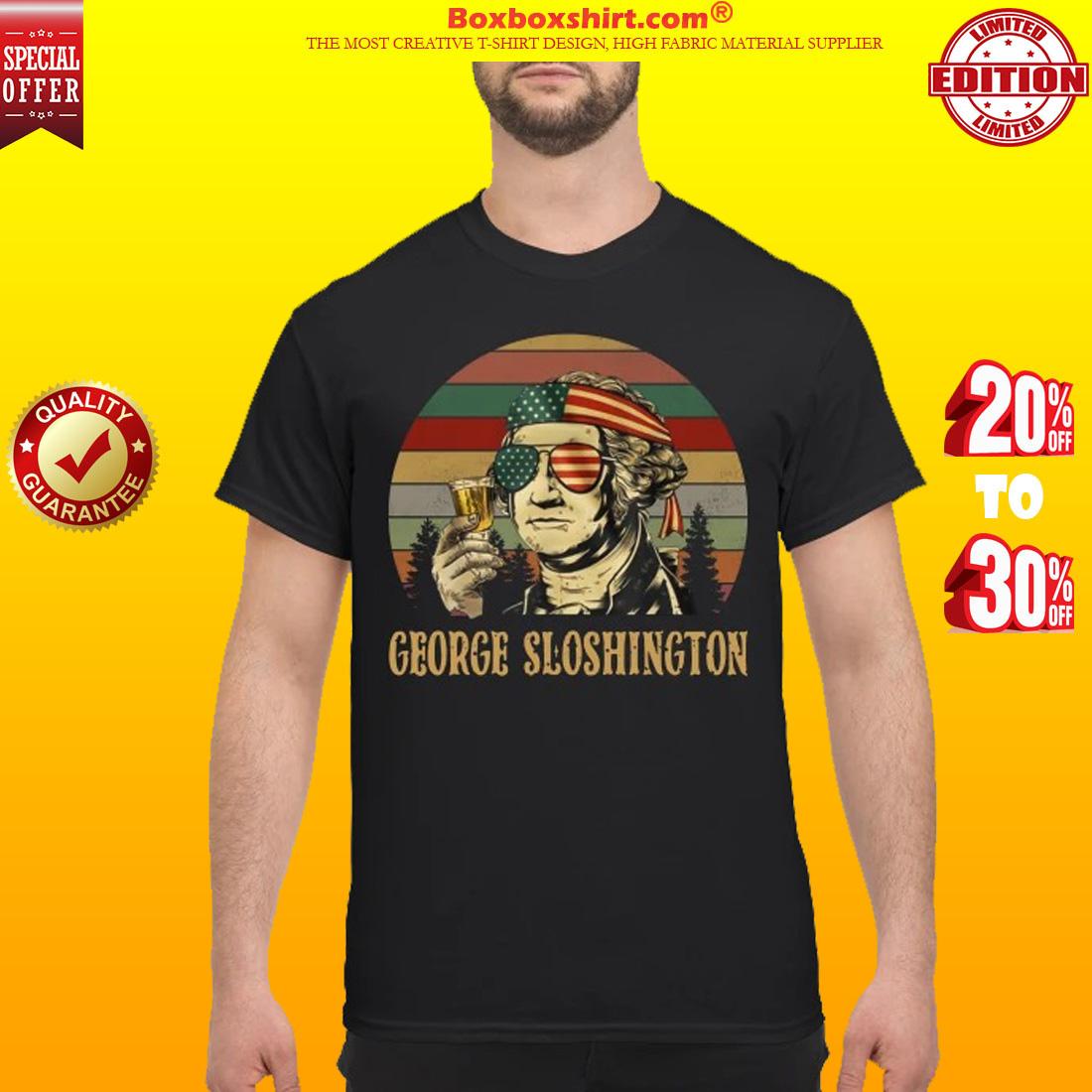 George sloshington classic shirt