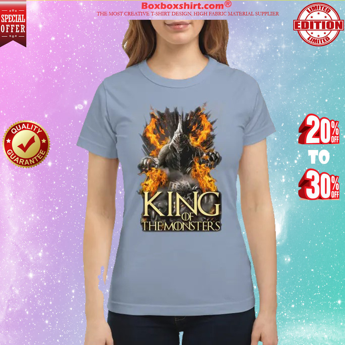 Godzilla king of the monsters classic shirt