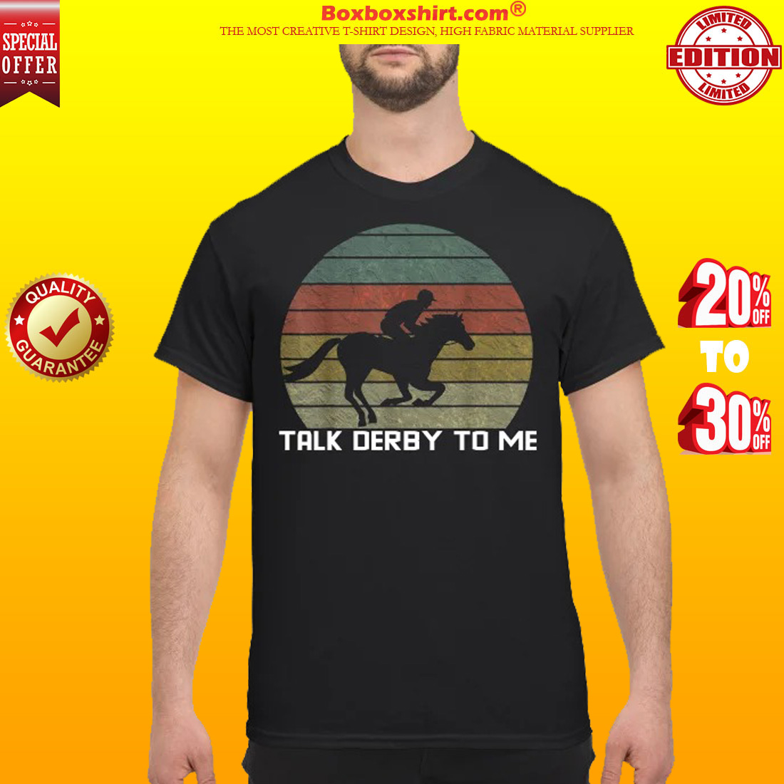 Talk derby to me horse racing shirt