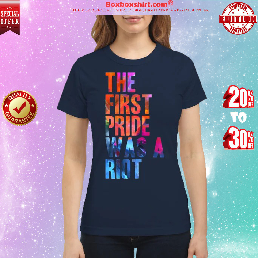 The first pride was a Riot classic shirt