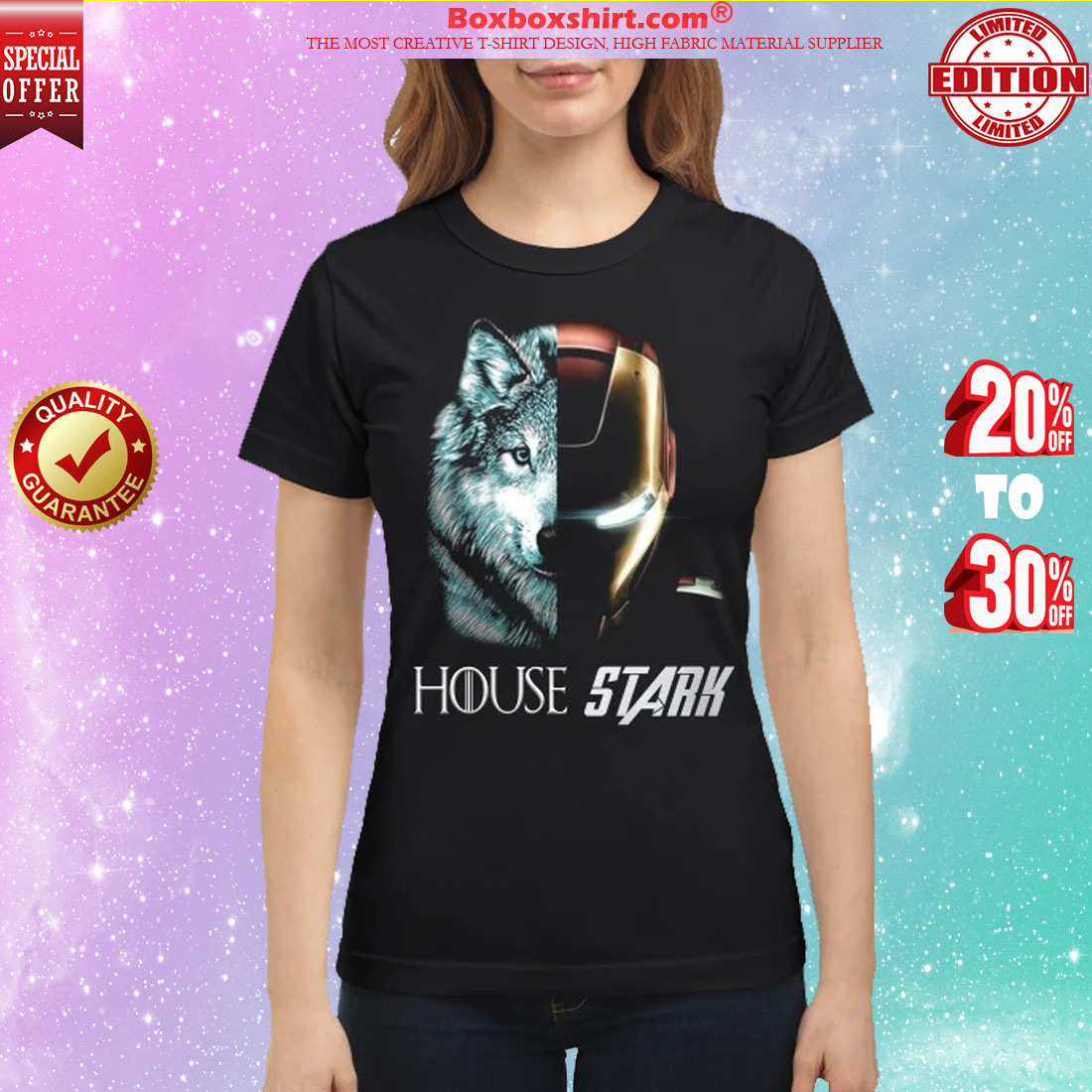 Wolf house stark classic shirt