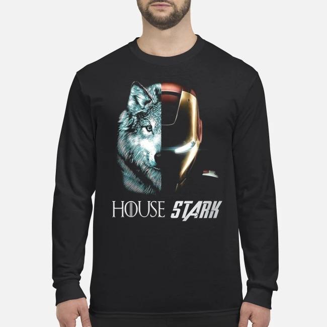 Wolf house stark men's long sleeved shirt