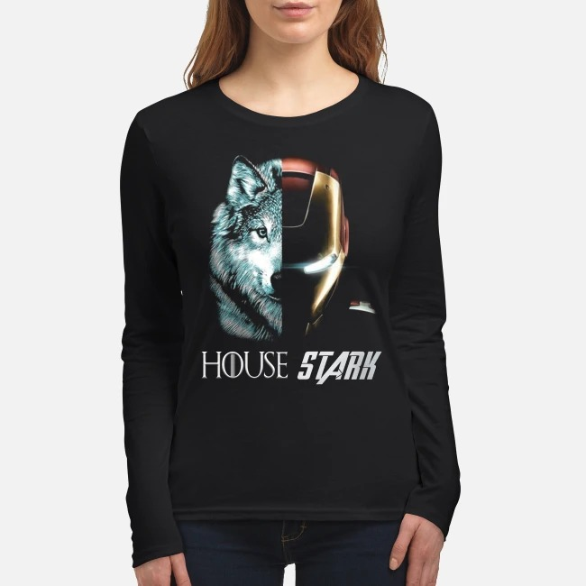 Wolf house stark women's long sleeved shirt