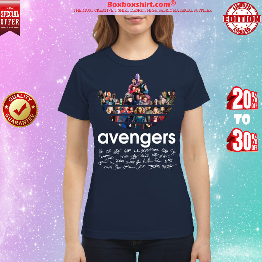 Adidas Avengers Signatures classic shirt