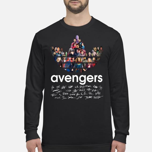 Adidas Avengers Signatures men's long sleeved shirt