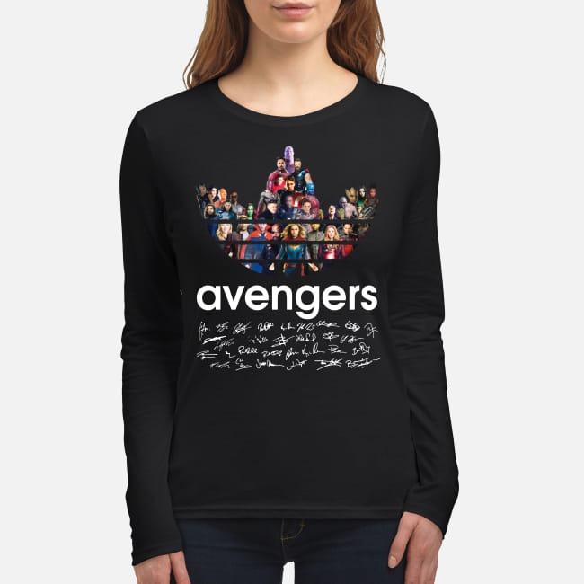 Adidas Avengers Signatures women's long sleeved shirt