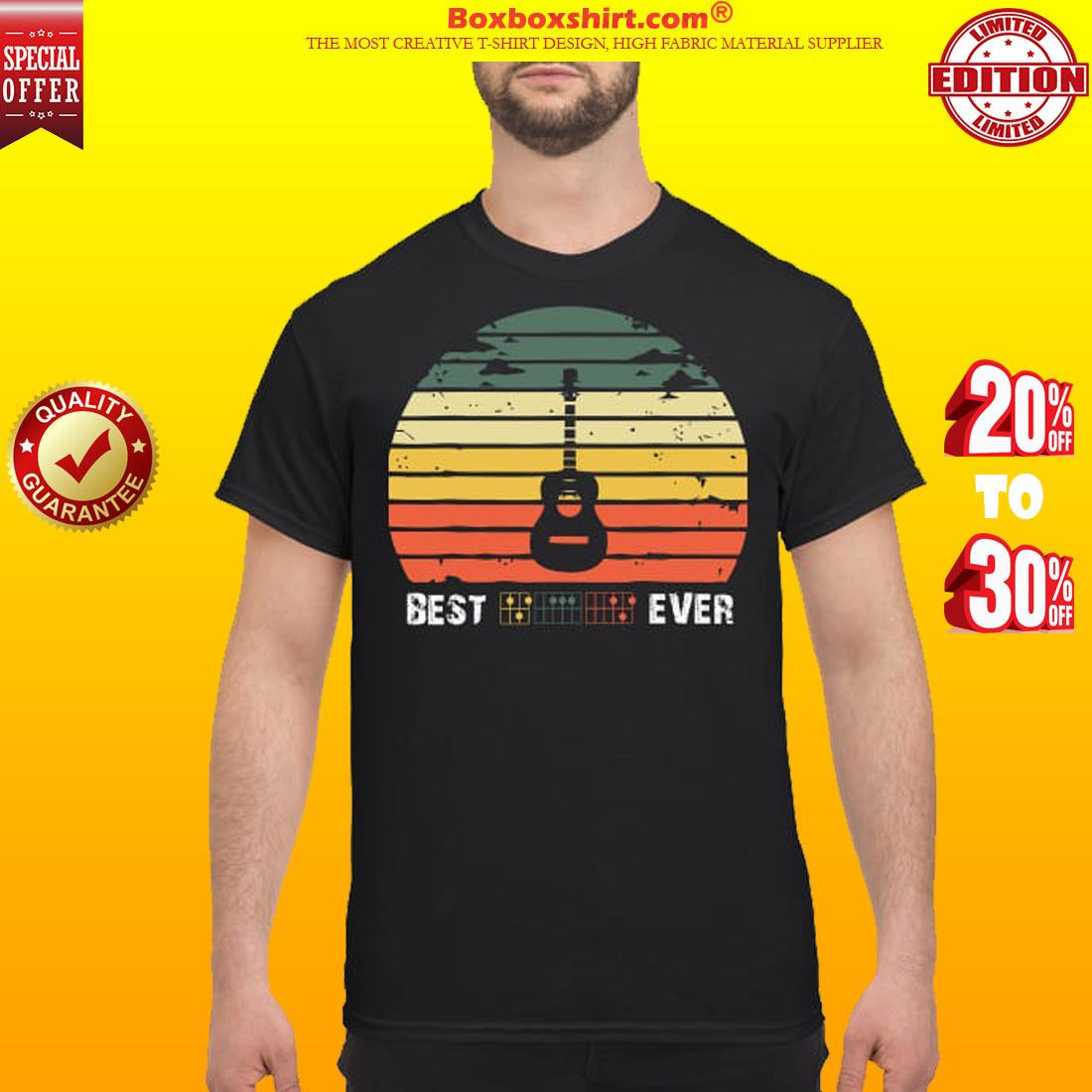 Best guitar ever shirt