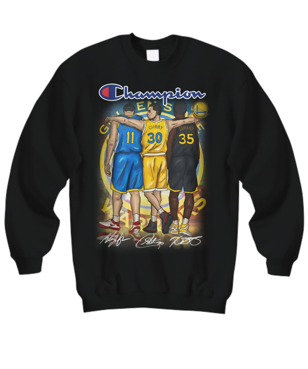 Champion Thompson Curry Durant sweatshirt