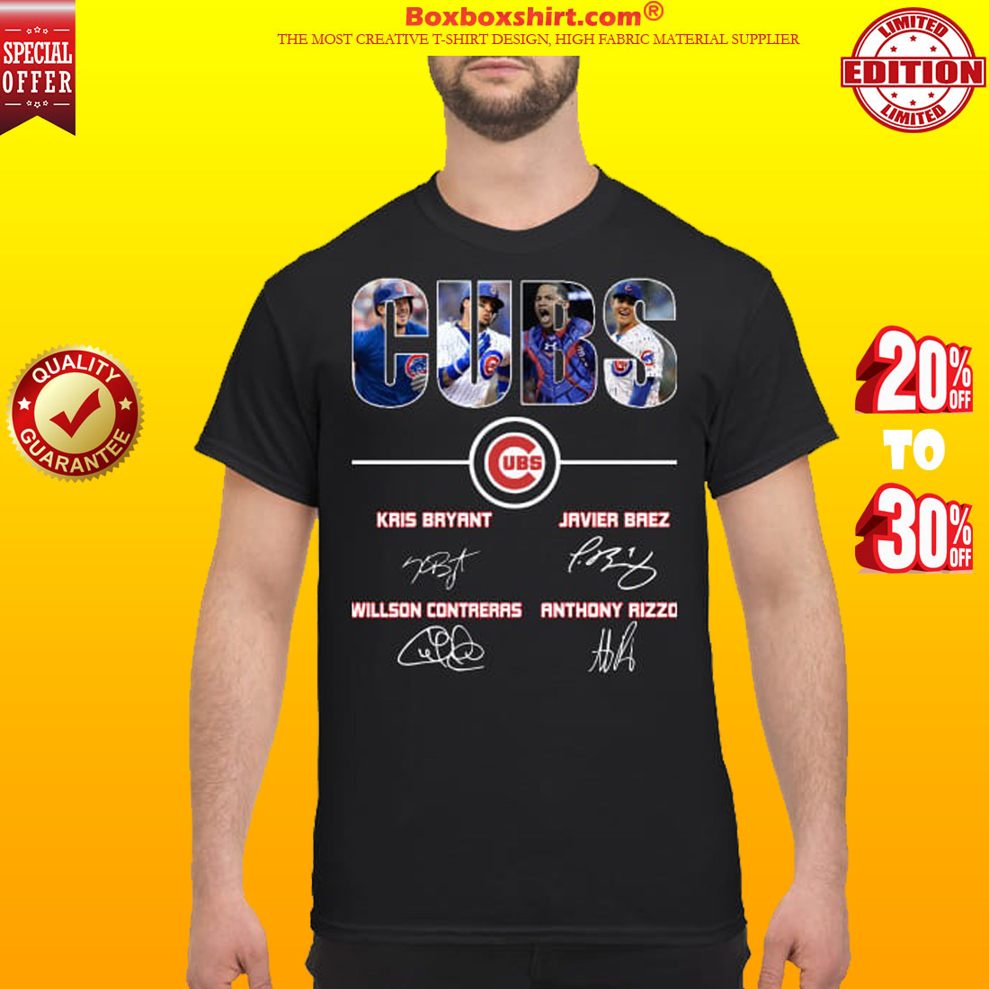 Cubs Kris Bryant Javier Baez Willson Contreras Anthony Rizzo classic shirt