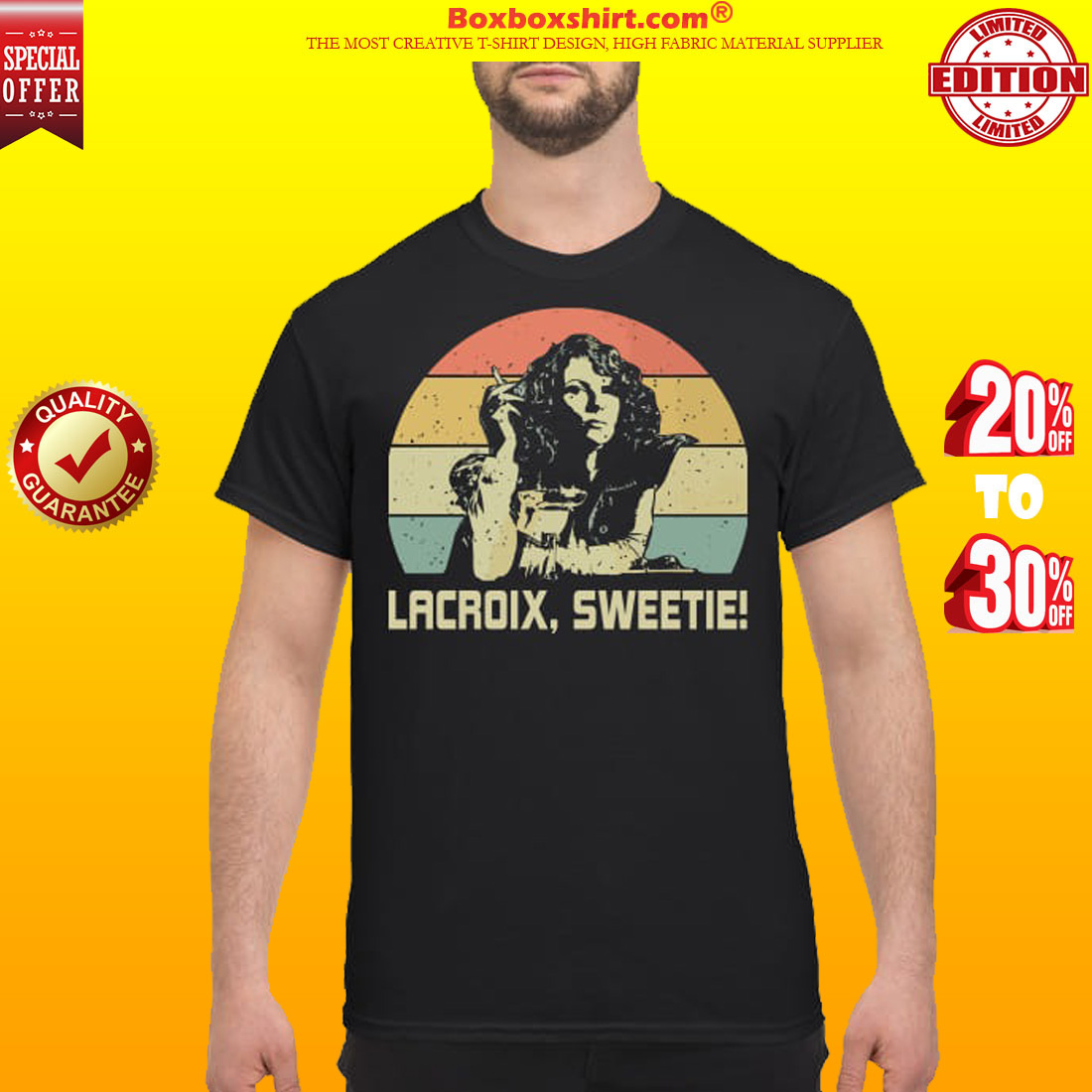 Eddy Lacroix sweetie classic shirt