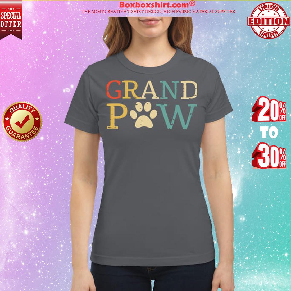 Grand paw classic shirt