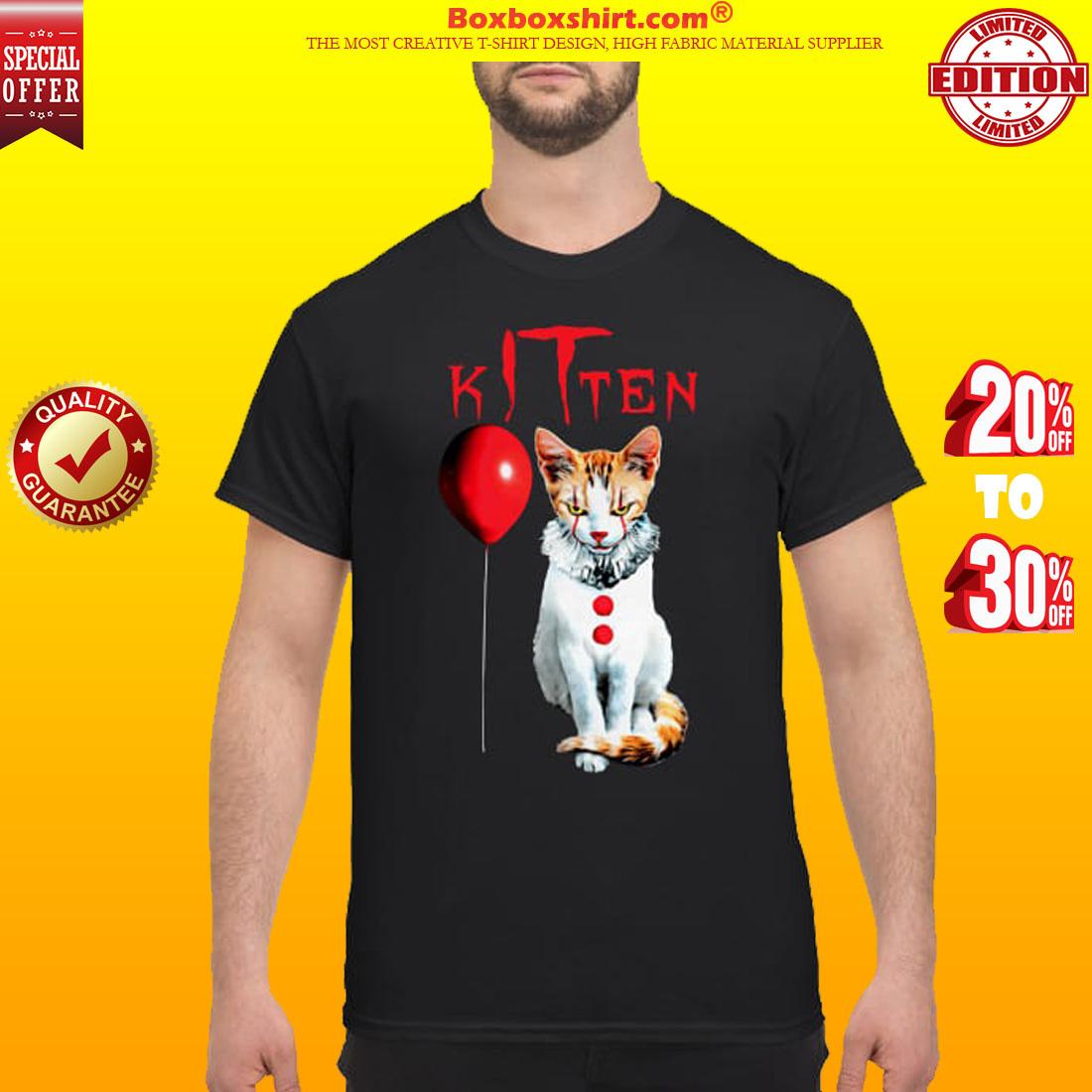 IT kitten cat classic shirt