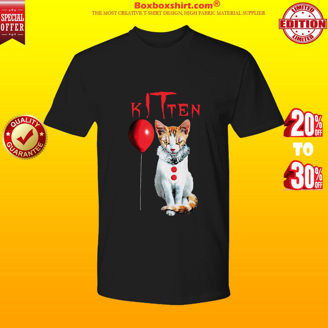 IT kitten cat premium tee shirt