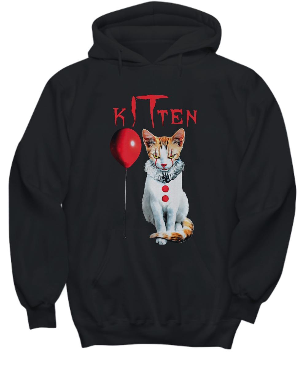 IT kitten cat shirt and hoodie