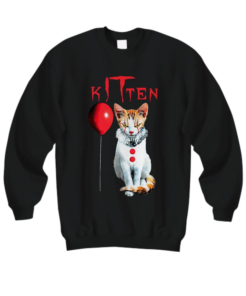 IT kitten cat sweatshirt