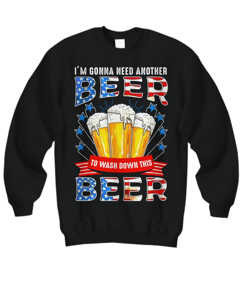 I'm gonna need another beer to wash down this beer sweatshirt