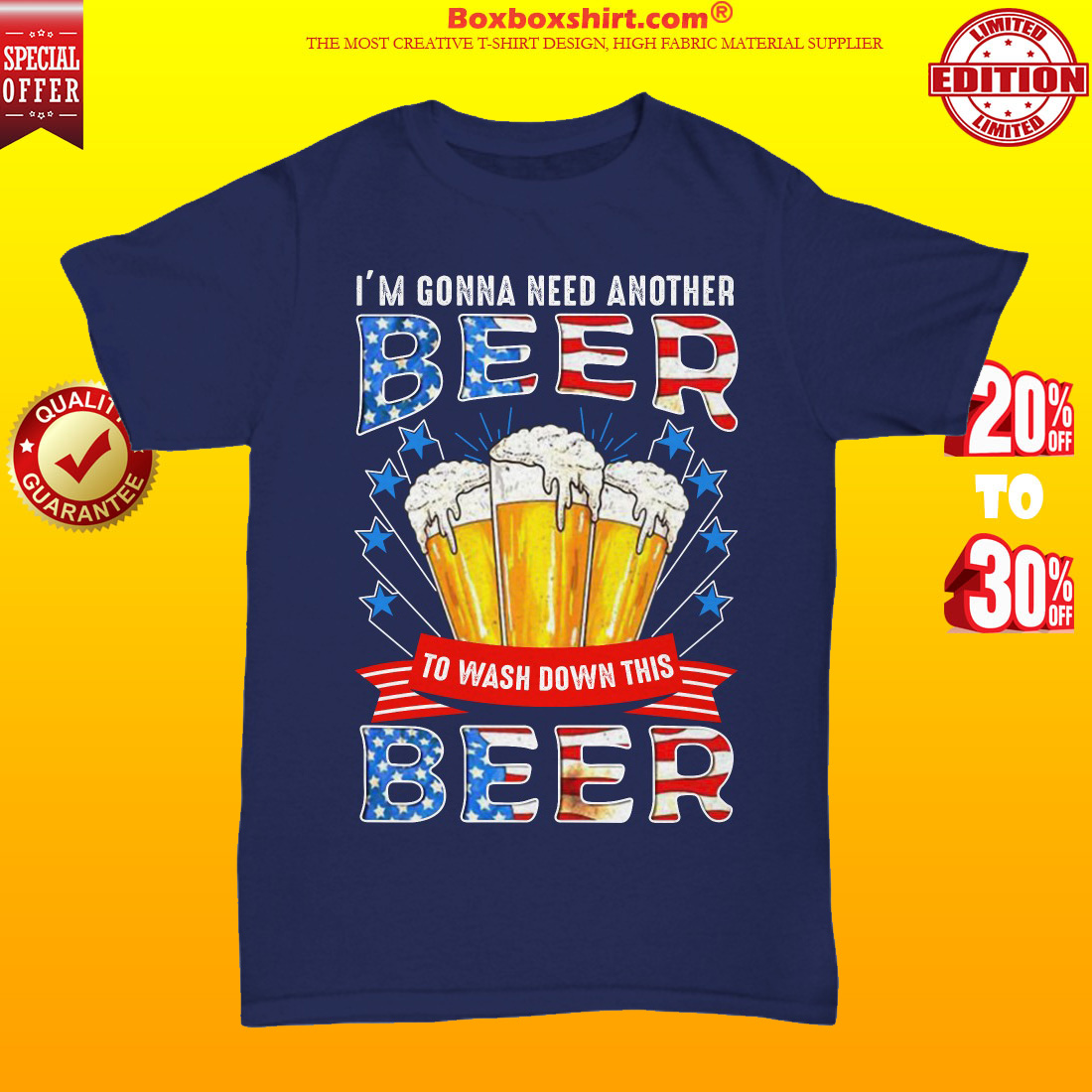 I'm gonna need another beer to wash down this beer unisex tee shirt