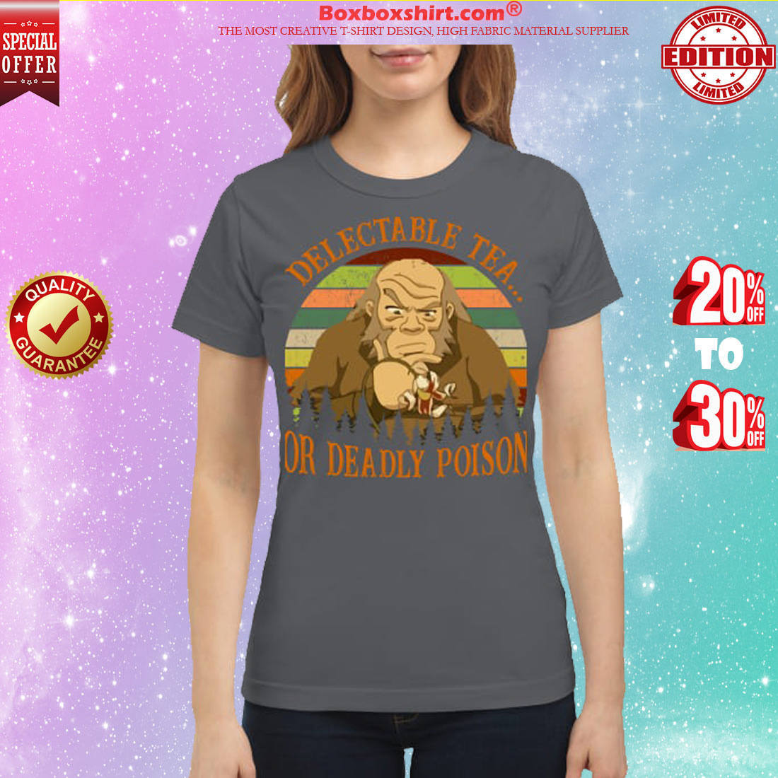 Iroh delectable tea or deadly poison classic shirt