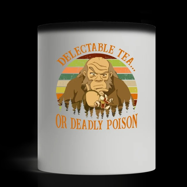 Iroh delectable tea or deadly poison mug