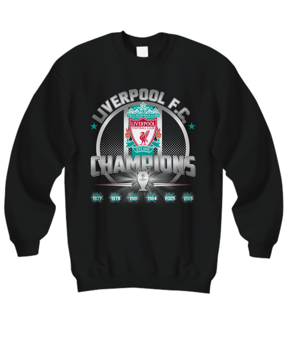 Liverpool FC Champions 2019 sweatshirt