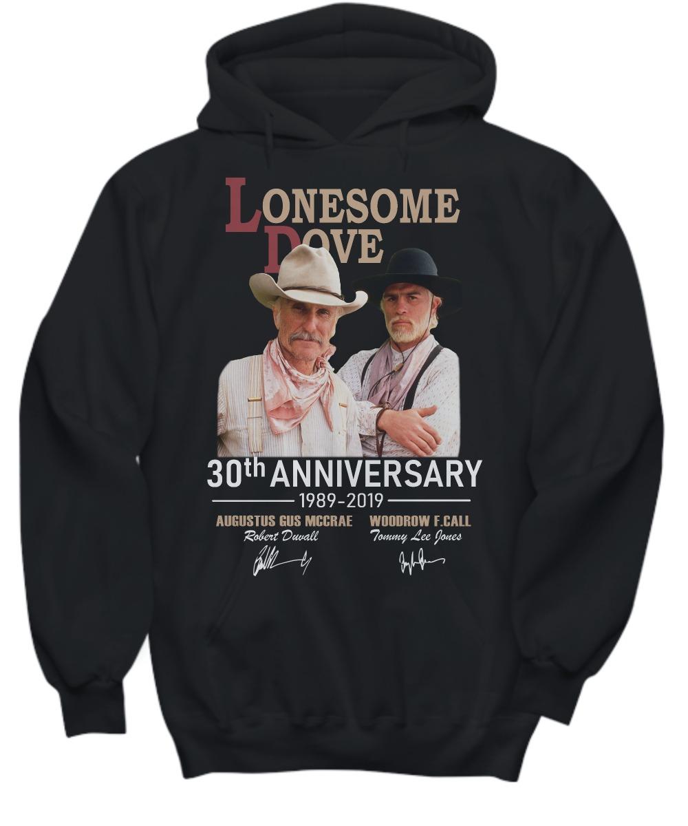 Lonesome Dove 30th anniversary 1989 2019 shirt and hoodie