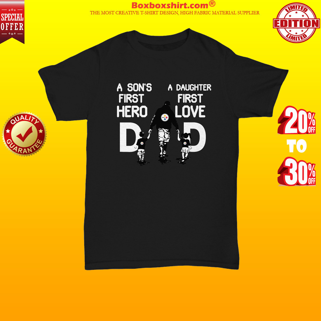d442d113 NEWEST] Pittsburgh Steelers dad a son's first hero a daughter first ...