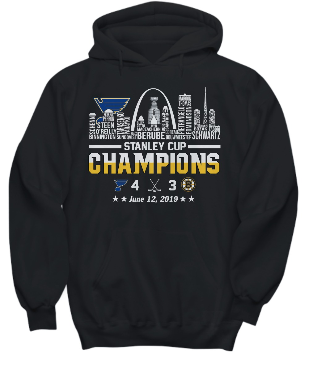 Stanley cup champions St Louis Blues shirt and hoodie