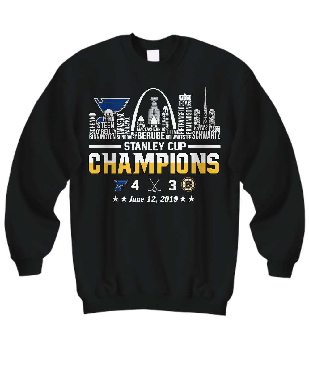 Stanley cup champions St Louis Blues sweatshirt
