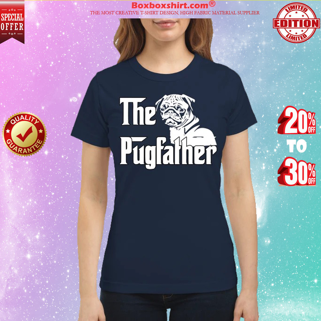 The pugfather classic shirt